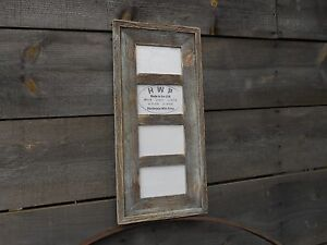 Barn Wood Collage Picture Frame,8 Color Choices,4x6,5x7,and 8x10 Pictures