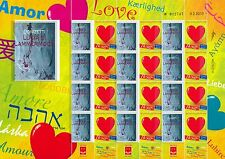 ISRAEL 2014 MUSIC FAMOUS OPERAS LUCCIA DE LAMARMOOR BY DONIZETTI SHEET MNH