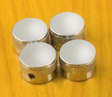 4 Chrome Knobs - Fits 6mm Posts
