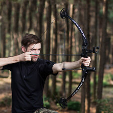 30lbs To 40lbs Outdoor Black Archery Hunting Compound Bow Right Hand Shooting