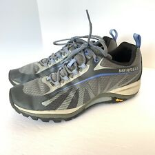 Merrell Siren Edge Athletic Hiking Vibram Shoes Women's Size US 9 Grey J35516