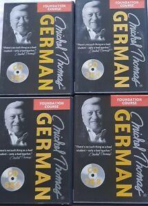 Michel Thomas German Foundation Course (8 CDs)