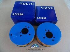 VOLVO AMAZON B18B / D 1967-68  SU HS6 AIR FILTERS NEW!