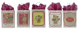 PERSONALISED Mother's Day Paper Gift Bag, Present, Wrapping Free UK P&P