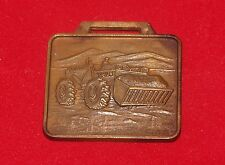 ANTIQUE ADVERTISING WATCH FOB TROJAN DIVISION YALE & TOWNE MFG. CALIFORNIA