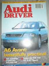 Audi Driver Mar/Apr 1998 A6 Avant, Biturbo A8, A4 TDi 110