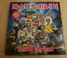 IRON MAIDEN - BEST OF THE BEAST 4 LP Vinyl Box Set 1996, EMDX 1097, Near Mint