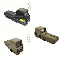 Tactical Rifle Holographic Sight Weapon Scope Red Green Dot 552