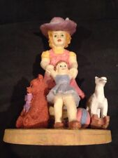 Vintage Little Girl With Toys Figurine Albert E Price Product