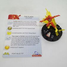 Heroclix Superman set The Flash (Flashpoint) #047 Super Rare figure w/card!