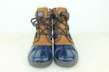 UGG CECILE WATERPROOF WOMEN ANKEL BOOTS LEATHER NAVY US Size 5