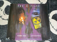 X-Files Piper Maru/ Apocrypha NEW SEALED Laserdisc LD Free Ship $30