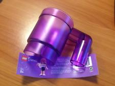 Nuevo Lego Amigos Upscaled Minifig Taza Trans-Purple #853439 Alimentos/Bebidas