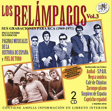 LOS RELAMPAGOS 1969-1971 Vol.3-2CD