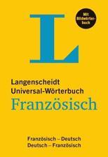 Langenscheidt Universal-Wörterbuch Französisch - mit Bildwörterbuch (2017, Kunststoffeinband)
