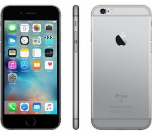 NEW SPACE GRAY VERIZON GSM/CDMA UNLOCKED 32GB APPLE IPHONE 6S PHONE! JF46 B
