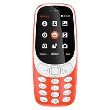 Teléfonos móviles libres rojos con conexión Bluetooth Nokia