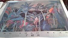 Ting shao kuang running sands river limited edition print poster signed?