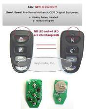 Kia remote keyless entry key fob transmitter control SEKS-TF10ATX beeper alarm