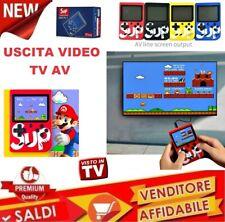 Vintage Game boy clone mini console 400 SUPER MARIO BROS GIOCHI psp pvp bimbi