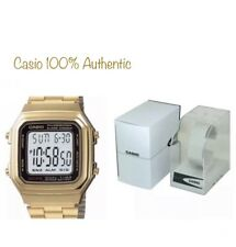 Casio Men's Digital Gold And Black Watch A178WGA-1ADF New With Box 💯 Authentic