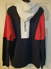 Wu Wear Chamber Hoodie Navy Red White Size L Wu Tang Clan