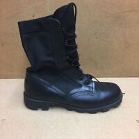 UK BRITISH ARMY SURPLUS ISSUE ODD BLACK JUNGLE COMBAT BOOTS LEFT OR RIGHT FOOT