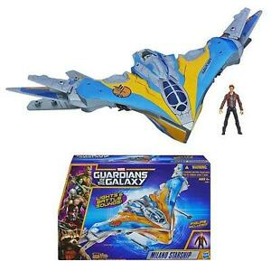 MARVEL GUARDIANS OF THE GALAXY-MILANO STARSHIP TOY=FIRING MISSILES=LIGHTS+SOUNDS