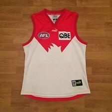 Sydney Swans 2005 Puma AFL Football Guernsey Jersey Red Mens XL