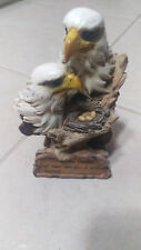 """Eagle head bust Statue """"...in the shadow of Your wings. I will rejoice."""""""