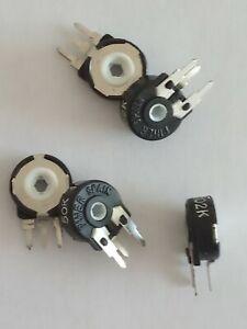 5 Piece Trimmer Resistive 220 kohm Piher Spain Trimmer Potentiometer pt10lh 220k
