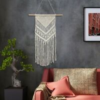 Bohemian Handmade Tapestry Macrame Tassel Home Decor Wall Hanging Art Woven Gift