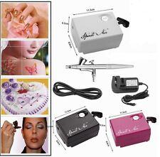 Portable SP16 Air Compressor Suit Airbrush Beauty Makeup Spray Gun Kit Hot Sale