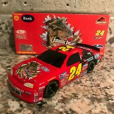 Jeff Gordon No. 24 DuPont Jurassic Park 1997 Monte Carlo 1:24 Die Cast Car BANK