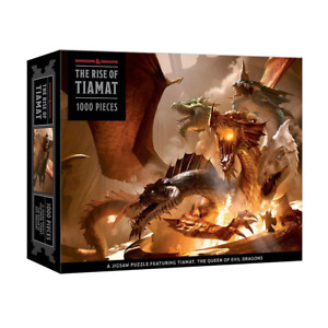 Dungeons & Dragons The Rise of Tiamat 1000 Piece Jigsaw Puzzle NEW