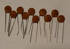 100 pieces NOS .01uF 10nf 50v ISL ceramic capacitors US Seller