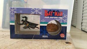 Batman Resin Ornaments Boxed Set DC Direct   NIP