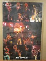 vintage Led zeppelin original Poster rock N roll 1982 11821
