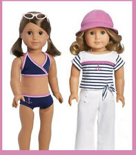 American Girl Doll Outfit My Life On Water 2 in 1 Beach Pool Boat Summer Lea Fre