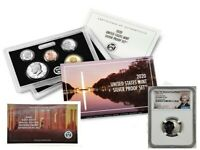 2020 SILVER PROOF SET w/ FIRST W REVERSE PF NICKEL, NGC REV PF69, EARLY RELEASES