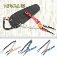 Hercules Fishing Pliers H2 Stainless Steel Tackle Tools Accessories Nylon Sheath