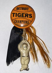 Vintage 1935 World Champions Pin Detroit Tigers