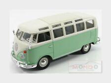 Volkswagen T1 Samba Minibus 1962 Very Light Green White MAISTO 1:25 MI31956LGR