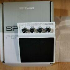 Roland Spd One Percussion Pad (White Color) Open Box Brand New.