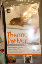 """K & H Thermo-Pet Mat 14"""" x 28"""" UL Listed Energy Efficient New"""