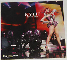 KYLIE MINOGUE MUSIC CD ALBUM - PERFORMANCE PROMOTIONAL CD DAILY MAIL