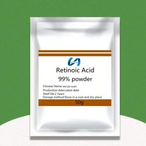 Retinoic acid powder facial shimmer brighten skin tone treat acne reduce wrinkle