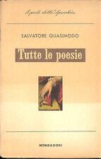 Quasimodo Tutte le poesie