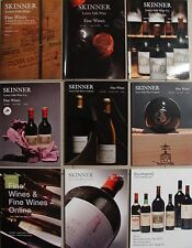 9 CATALOGUE DE VENTE : VINS (Margaux,Rothschild,Latour,Petrus,Bordeaux,Burgundy)