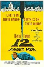 12 ANGRY MEN movie poster LARGE FRIDGE MAGNET- HENRY FONDA classic!